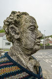 Dylan Thomas Monument, Laugharne Stock Image