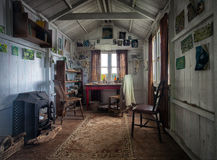 Dylan Thomas Writing Shed Arkivbild