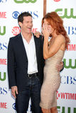 Dylan Walsh, Poppy Montgomery Stock Image
