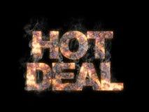 dylowy gorący dymienie royalty ilustracja