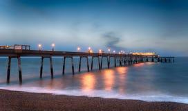 Dylowy molo w Kent Zdjęcie Stock