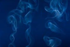 Dymów kształty Zdjęcia Stock