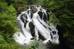 Dymówka spada w Snowdonia Zdjęcia Stock