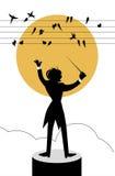 Dymówki symfonia Obrazy Royalty Free