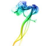 dym abstrakcyjne taniec Zdjęcie Royalty Free