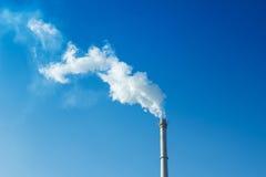 Dym i komin Obrazy Stock