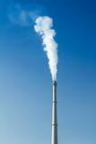 Dym i komin Zdjęcia Stock