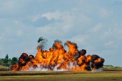 Dym i płomienie zdjęcia royalty free
