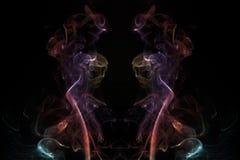 dym kadzidła wampirów Fotografia Royalty Free