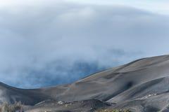 Dym na górze Bromo Obraz Stock