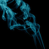 dym niebieski Zdjęcia Stock