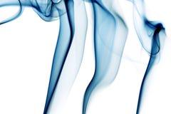 dym niebieski Fotografia Royalty Free
