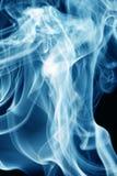 dym niebieski Zdjęcie Stock