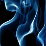 dym niebieski Zdjęcie Royalty Free