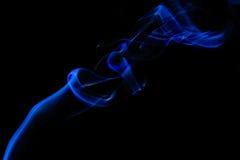 dym niebieski Fotografia Stock