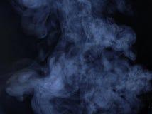 dym niebieski abstrakcyjne Fotografia Royalty Free