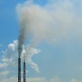 Dym od drymb Obrazy Stock