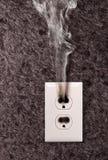 Dym od ujścia obrazy royalty free
