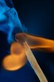 dym, płomień fotografia royalty free