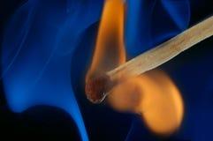 dym, płomień zdjęcie royalty free