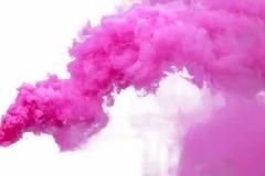 dym purpurowy zdjęcia royalty free