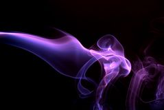 dym sztuki Obrazy Royalty Free