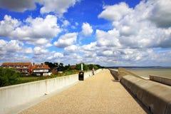 Dymchurch beach scenic view Kent UK Royalty Free Stock Image