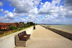 Dymchurch beach scenic view Kent UK Stock Image