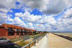 Dymchurch beach scenic view Kent UK Royalty Free Stock Photo