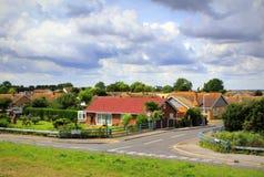Dymchurch village view Kent UK Royalty Free Stock Images