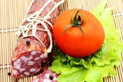 dymiący bekonowy mięso Obrazy Royalty Free