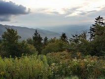 Dymiący widok górski Obraz Royalty Free