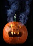 Dymienia Halloween bani głowa fotografia stock