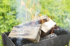 Dymienie łupka w brązowniku Zdjęcie Royalty Free