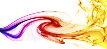 dymienie kolorowa fala Zdjęcie Royalty Free