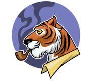 Dymienie tygrys Obrazy Stock