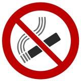 Dymienie zakaz Zdjęcia Stock