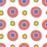 Dymkovo seamless pattern Stock Image