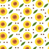 Dymkovo seamless pattern Royalty Free Stock Images