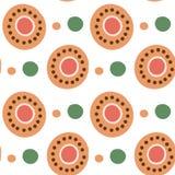 Dymkovo seamless pattern Stock Photo