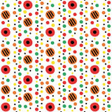 Dymkovo seamless pattern Royalty Free Stock Image
