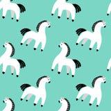 Dymkovo toy horse Royalty Free Stock Photos