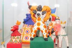 Dymkovo toys Royalty Free Stock Image