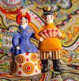 Dymkovo zabawki para, Rosja obraz royalty free