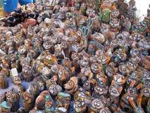 Dymkovostuk speelgoed Stock Foto