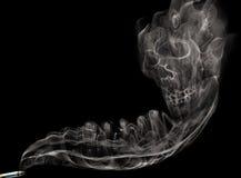 Dymna papieros czaszka Zdjęcie Stock