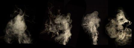Dymnego czerni tło Używać w edytorstwie zdjęcie royalty free