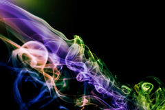 Dymny abstrakcjonistyczny tło Obrazy Royalty Free