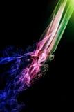Dymny abstrakcjonistyczny tło Zdjęcia Stock