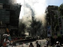 dymny centrala świat Zdjęcie Royalty Free
